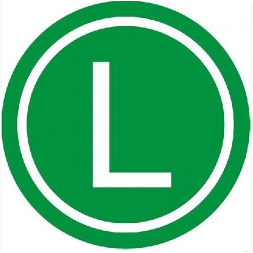 Autocolant L 5907478300401